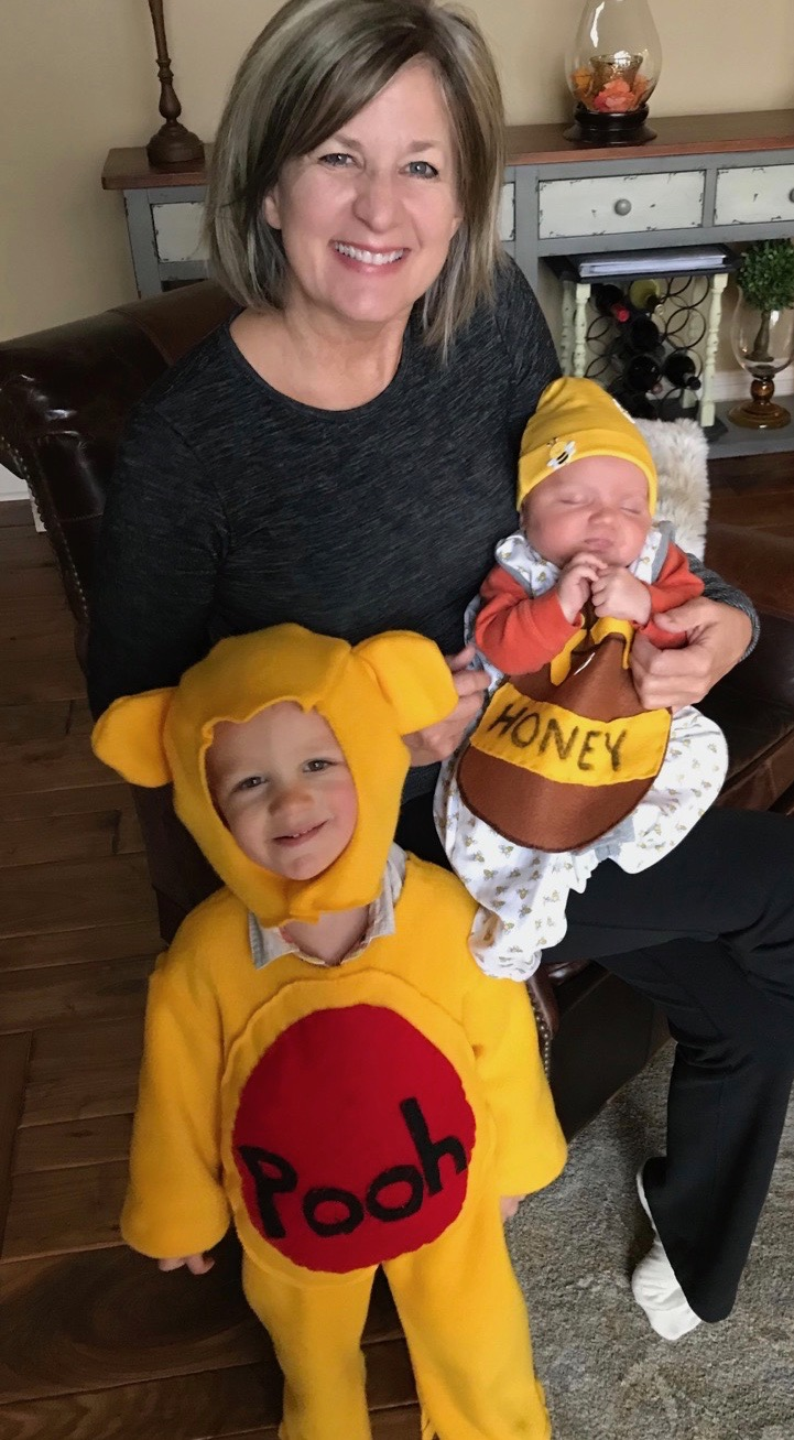 826eb7d6646f My little Pooh Bear and His Pot of Honey! The Pooh Bear costume was made  from a pattern